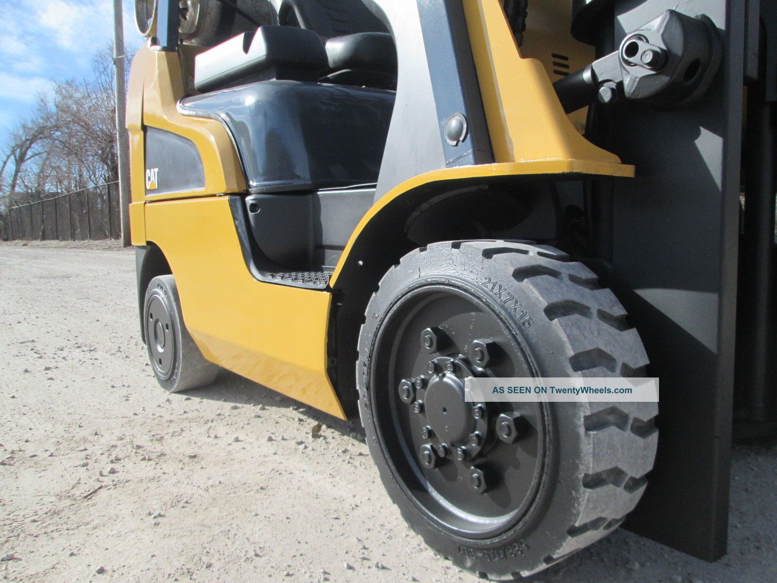 2012 Caterpillar 2c5000 Forklift Lift Truck Hi Lo Fork