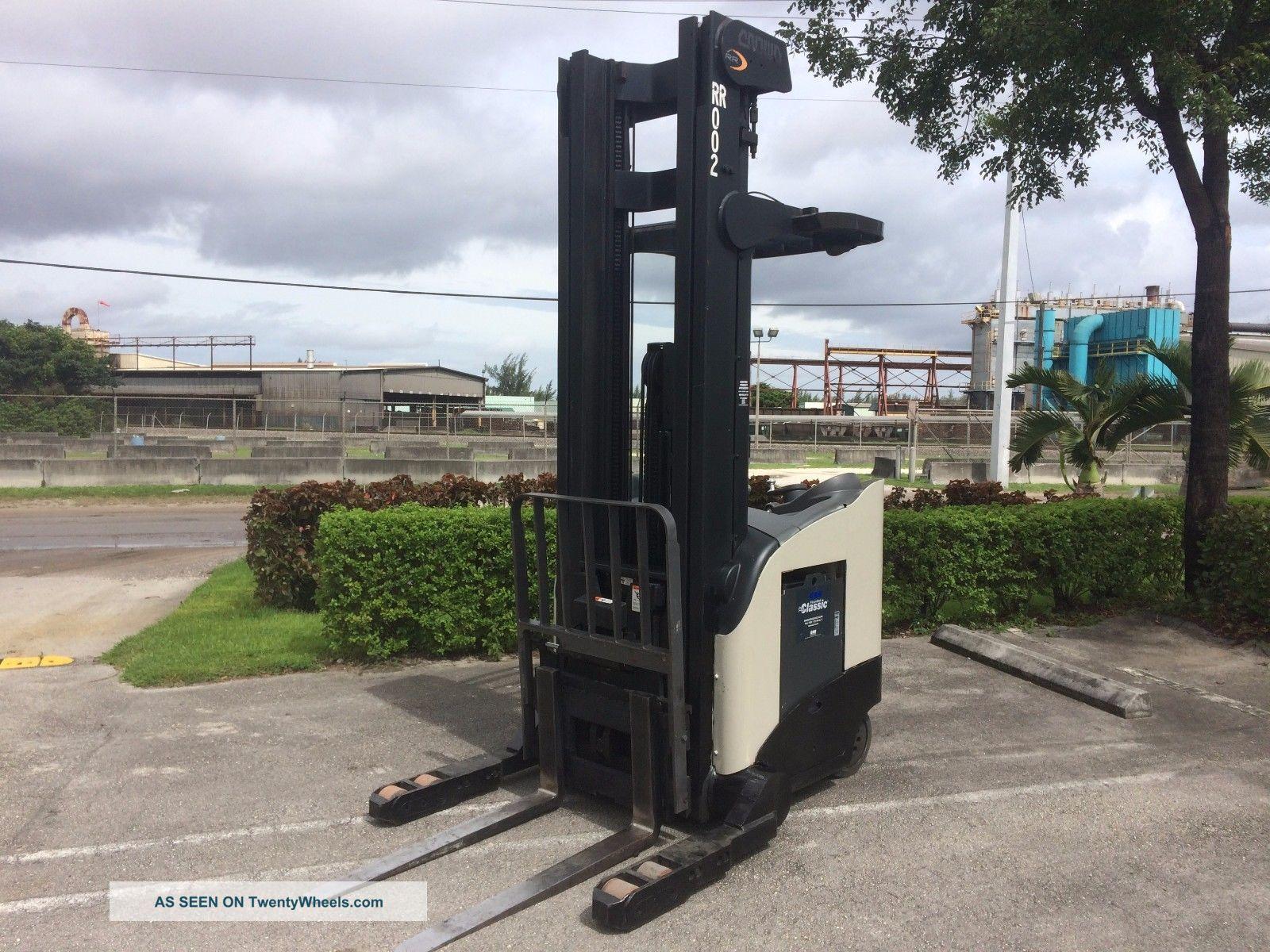 Four Way Side Loader Forklift Mitsubishi Rbm2025k Series: Crown Electric Forklift Rr5220