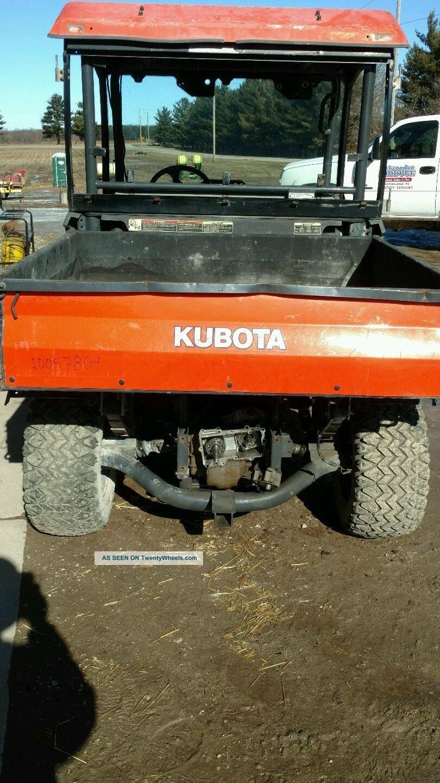 Kubota Rtv900 Specs : Kubota rtv reparible
