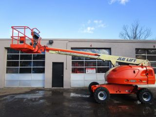 Jlg 400s Telescopic Boom Lift,  4x4,  Diesel,  Awp,  Aerial Man Lift photo