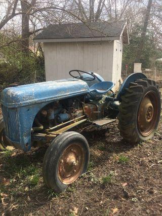 Antique Tractor photo