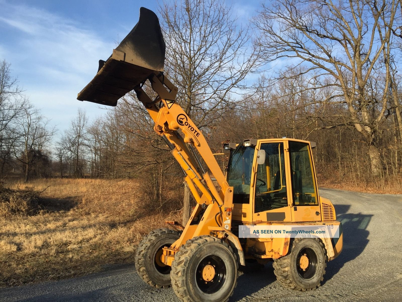 Coyote C19 Wheel Loader,  Enclosed Cab,  70 Hp Great For Snow Wheel Loaders photo