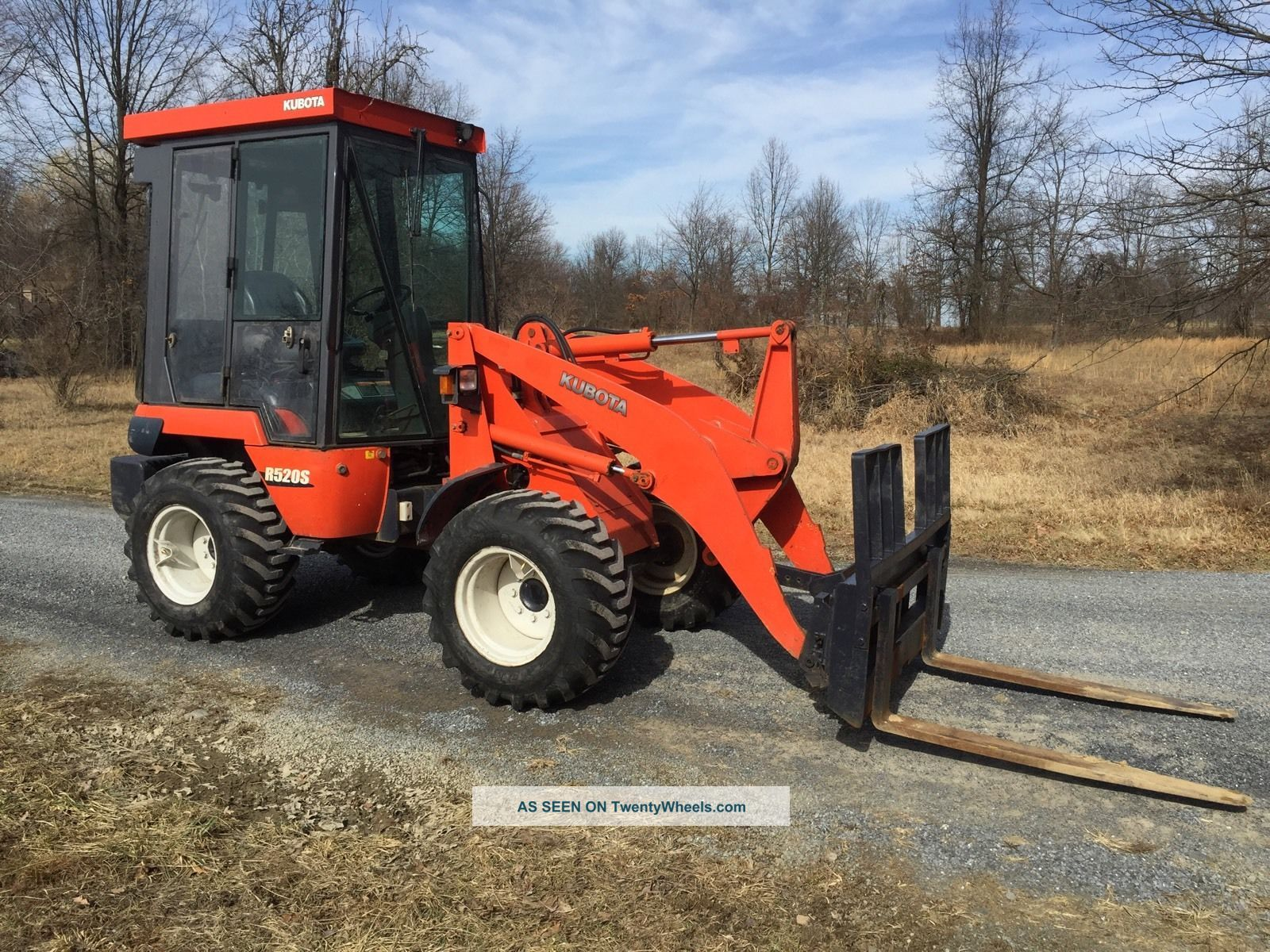 2007 Kubota R520s Wheel Loader Heat,  Bucket And Forks Wheel Loaders photo