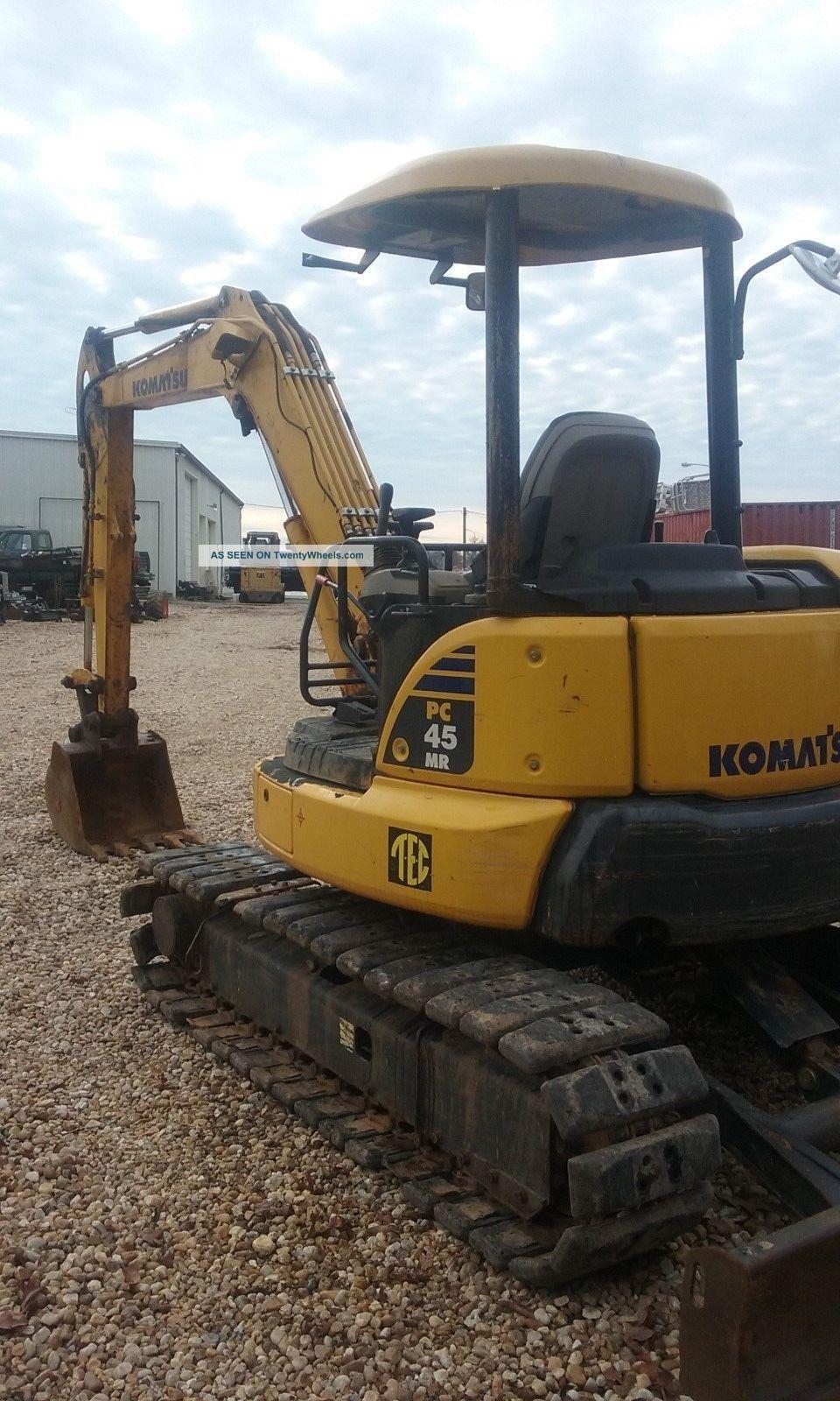 Komatsu Pc45mr - 3 Excavators photo