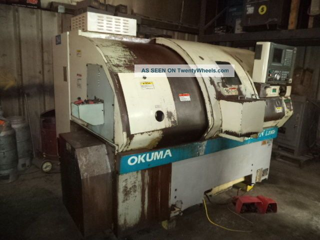 2000 Okuma Crown L1060 Cnc Turning Center,  Bar Chuck,  Osp - U10l Cnc Control Metalworking Lathes photo