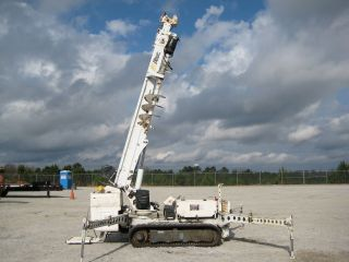 Altec Db35 Tracked Backyard Digger Derrick 35 ' Ht 3000 Lb.  Cap Diesel Remote Tn. photo