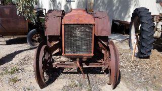 Antique Vintage Tractor Fordson Steel Wheel photo