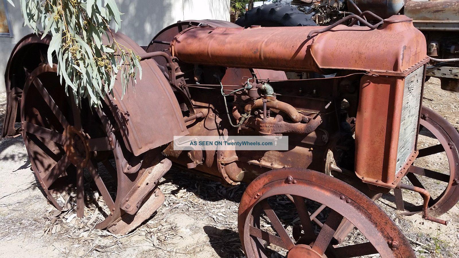 Old Tractor Steel Wheels : Antique vintage tractor fordson steel wheel