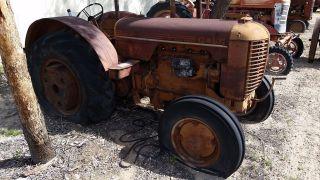 Antique Vintage Tractor 1940 Case Model D Runs photo