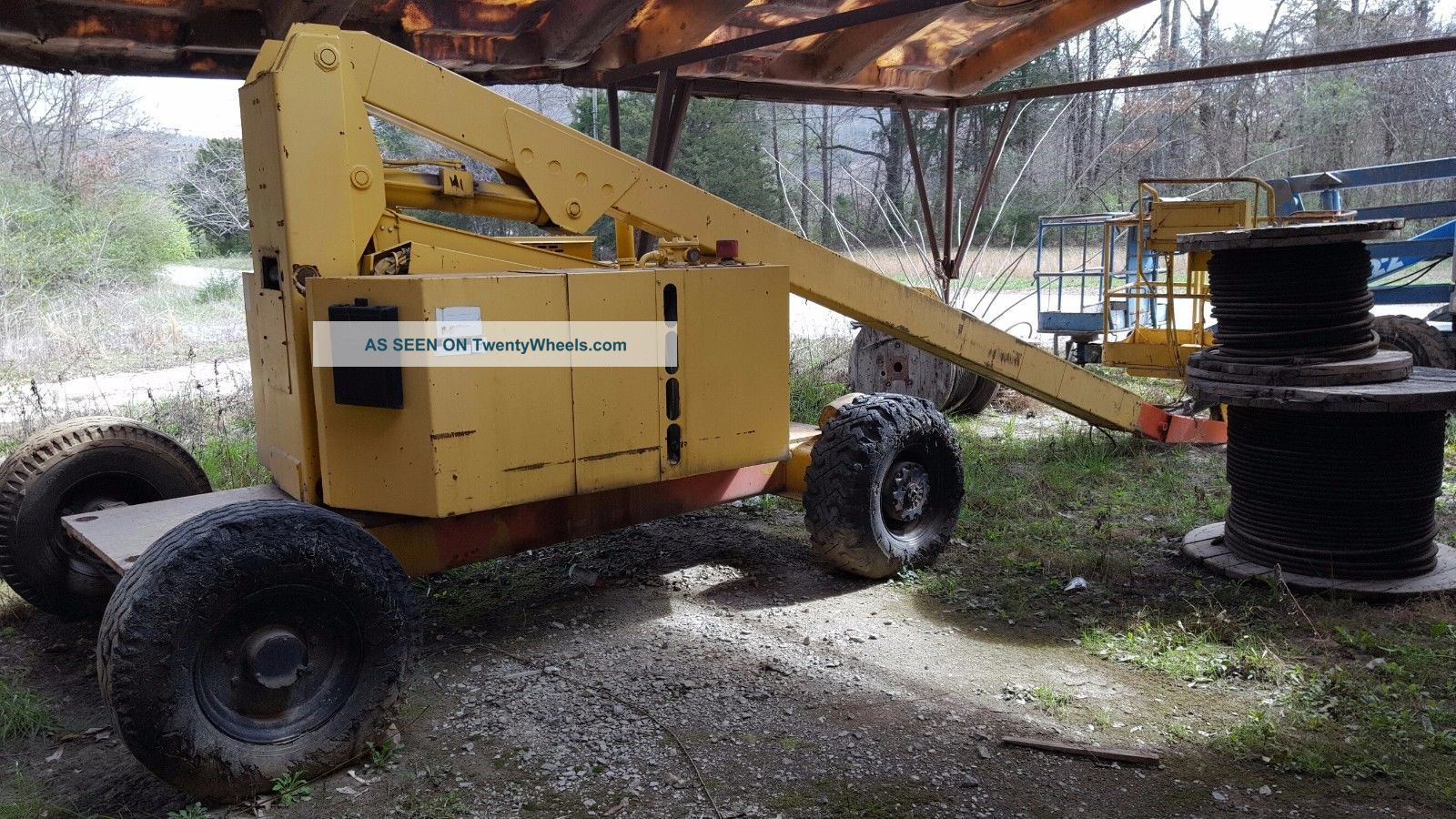 1990 Jlg 60 Ha Boom Lift.  Jlg Boom Lift.  Jlg 60 Boom Lift.  Boom Lift. Scissor & Boom Lifts photo