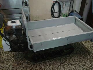 Mini Dumper,  Honda,  Tracked Dumper,  Motor Barrow,  Power Barrow photo