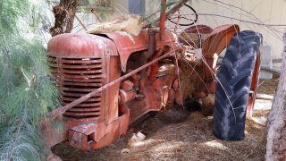 Antique Vintage Tractor 1940 ' S Case Model S photo