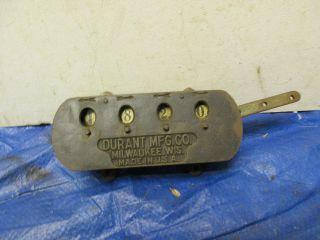Durant Mfg Co.  Industrial Counter/cast Iron/heavy Duty/steam Punk/art photo