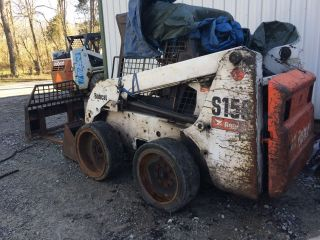 Bobcat S160 Skidsteer Loader S150 Diesel Needs Work photo