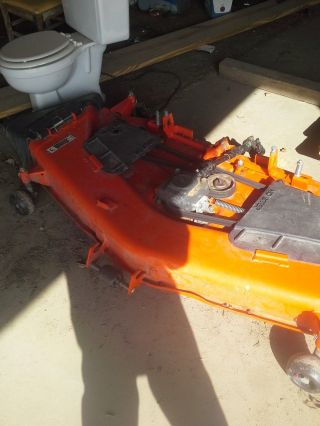 Kubota Belly Mower Deck 60 In.  2014 Model 20 Hours. .  Also 3 Point Hitch photo