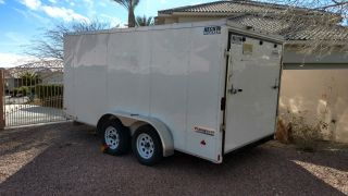 Trailer Once To Move From Nj.  14 ' And 4 Wheel Electric Brakes photo