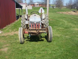 8n Ford Tractor/ Equipment photo
