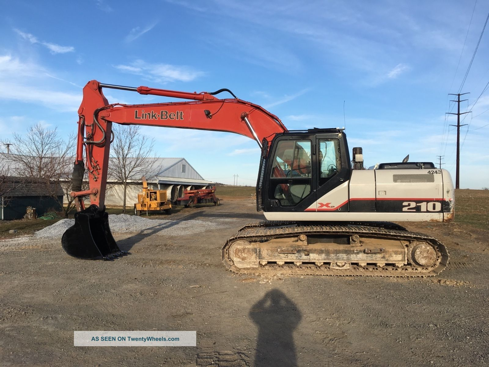 2011 Linkbelt 210x2,  1900 Hrs,  Video Financing Available Excavators photo