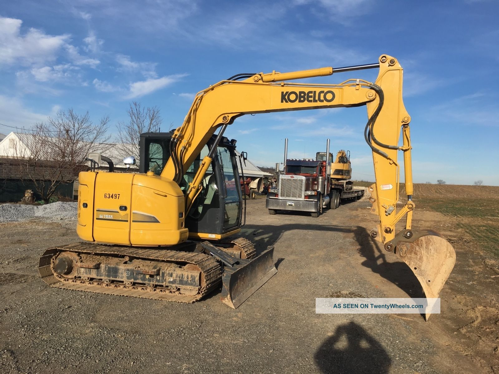 2014 Kobelco Sk75sr - 3 826 Hours Video Financing Available Excavators photo