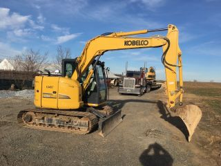 2014 Kobelco Sk75sr - 3 826 Hours Video Financing Available photo