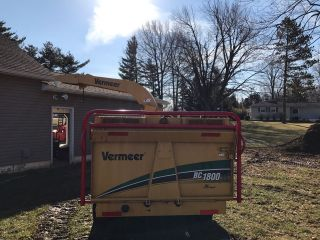 2006 Vermeer Bc1800xl Chipper Needs Nothing Runs 18