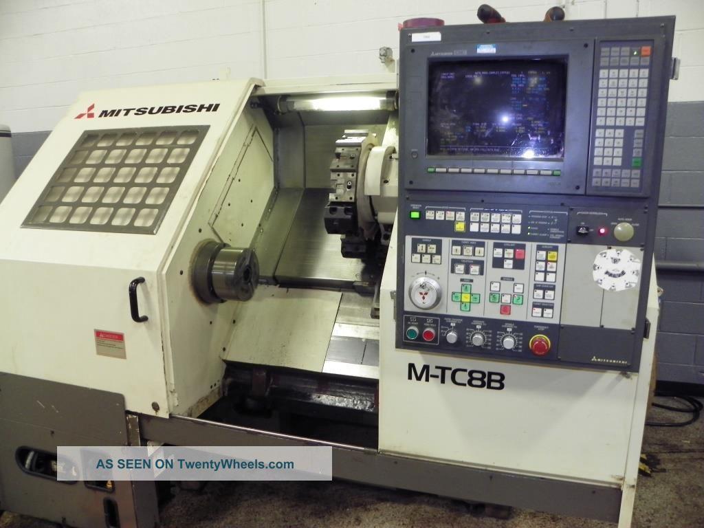 Mitsubishi M - Tc8b Cnc Turning Center,  8