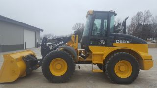 2016 John Deere 344k Wheel Loader photo