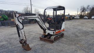 2007 Bobcat 323j Mini Excavator. photo