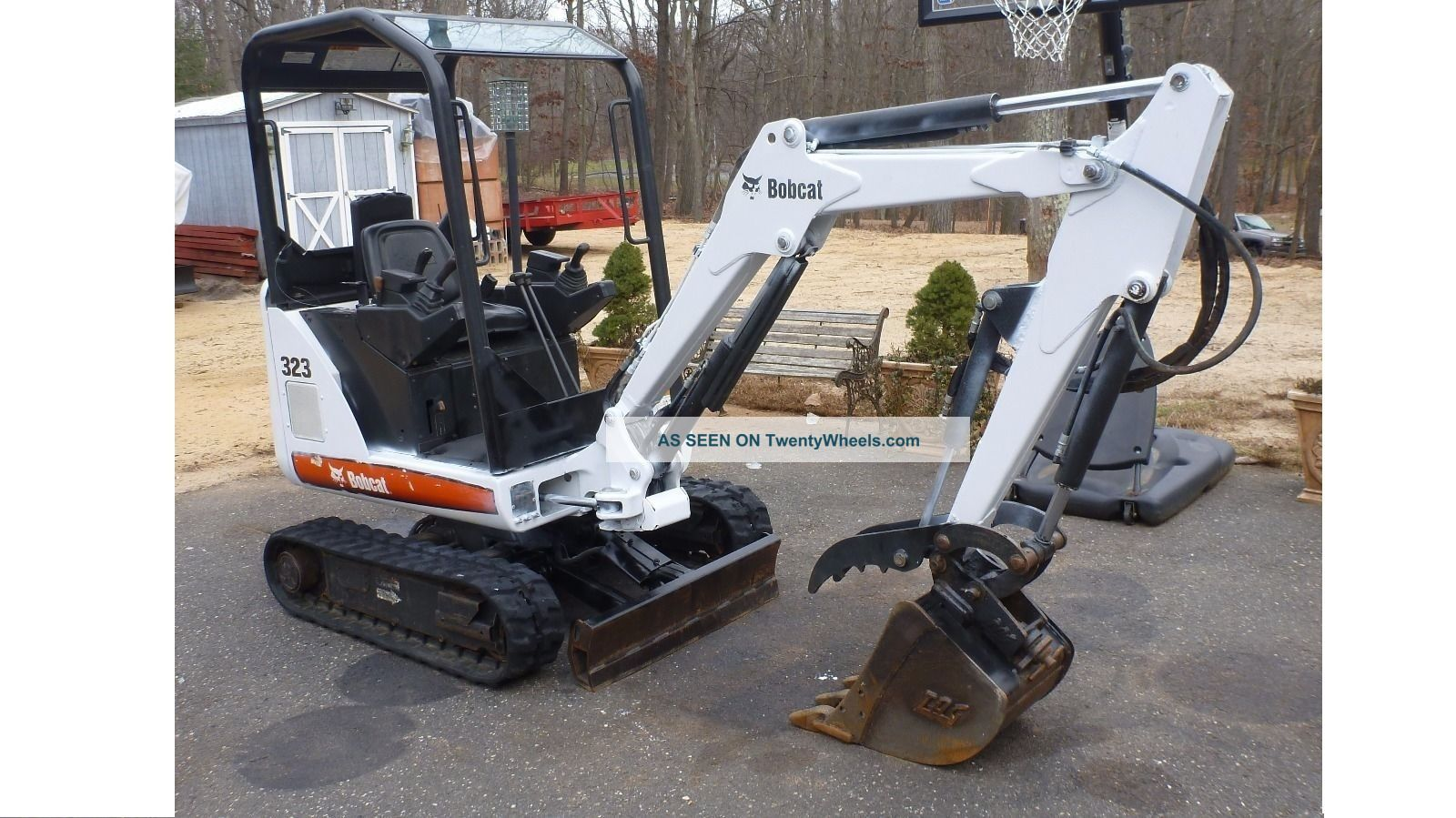 2008 Bobcat 323 Mini Excavator With Hydraulic Thumb No Issues 2 Speed Excavators photo