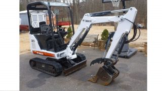 2008 Bobcat 323 Mini Excavator With Hydraulic Thumb No Issues 2 Speed photo