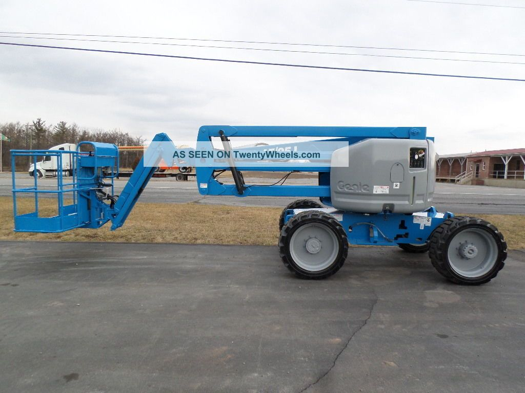 2006 Genie Z45/25j Boom Lift Manlift Man Lift Aerial Articulating Boomlift Scissor & Boom Lifts photo