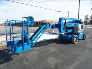 2008 Genie Z40/23nrj Electric Articulating Boom Lift Man Lift Manlift Boomlift photo