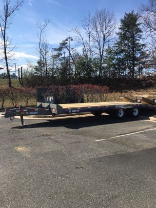 1999 Eager Beaver 12hdb/pt Flatbed Trailers photo