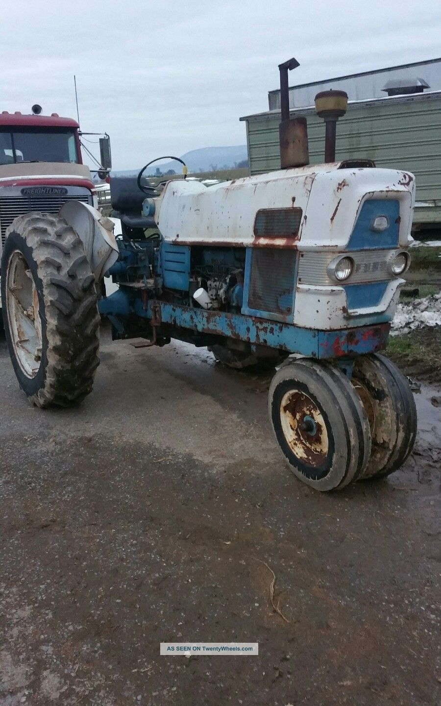 Ford 6000 Diesel Tractor : Ford tractor diesel