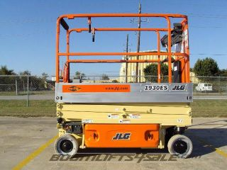 Jlg 1930 Es - 19 ' Scissor Lift Boom Manlift Aerial Ie Genie Skyjack photo