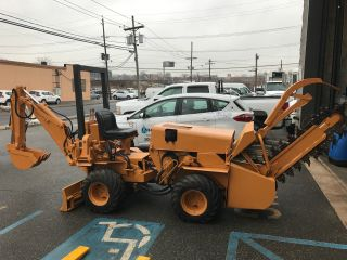 Case 30+4 Trencher Backhoe photo