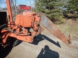 Ditch Witch 350sx Duetz Diesel Vibratory Ride On Plow With Roto Bore Attachment photo