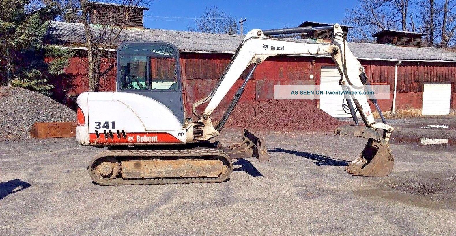 2003 341 D Bobcat Excavator Excavators photo
