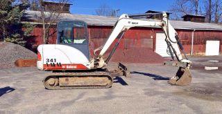 2003 341 D Bobcat Excavator photo