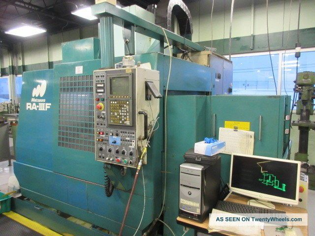 Matsuura Ra - 3f Cnc Vertical Machining Center Auto Pallet Changer Milling Machines photo