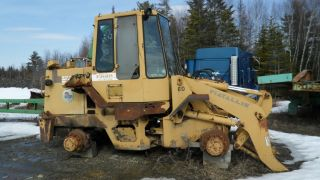 1988 Fiatallis Fr9b Wheel Loader photo