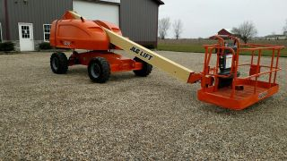 2007 Jlg 400s Boom Man Lift 40 ' Rough Terrain Aerial Diesel 4x4 photo