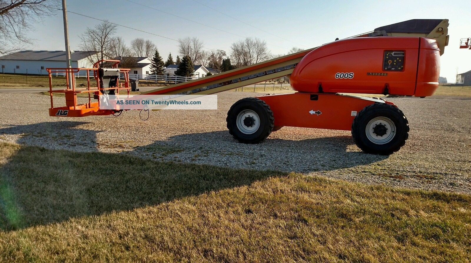 2006 Jlg 600s Boom Man Lift 60 ' Rough Terrain Aerial Diesel 4x4 Scissor & Boom Lifts photo