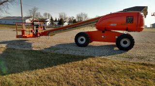 2006 Jlg 600s Boom Man Lift 60 ' Rough Terrain Aerial Diesel 4x4 photo