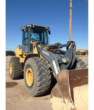 2010 John Deere 644k Wheel Loader photo