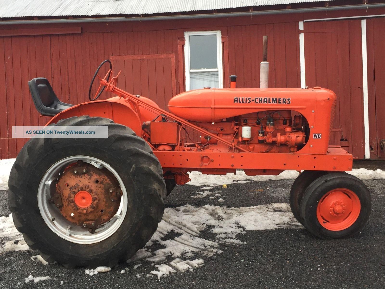 Vintage Allis Chalmers Tractors : Allis chalmers antique tractor