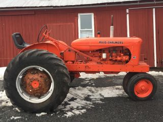 Allis Chalmers Antique Tractor photo