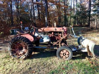 Early 50 S International Farmall A Antique Tractor photo