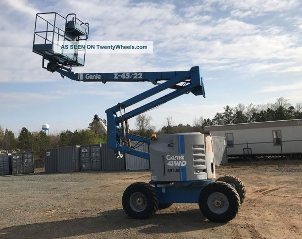 2006 Genie Z45/22 Scissor & Boom Lifts photo