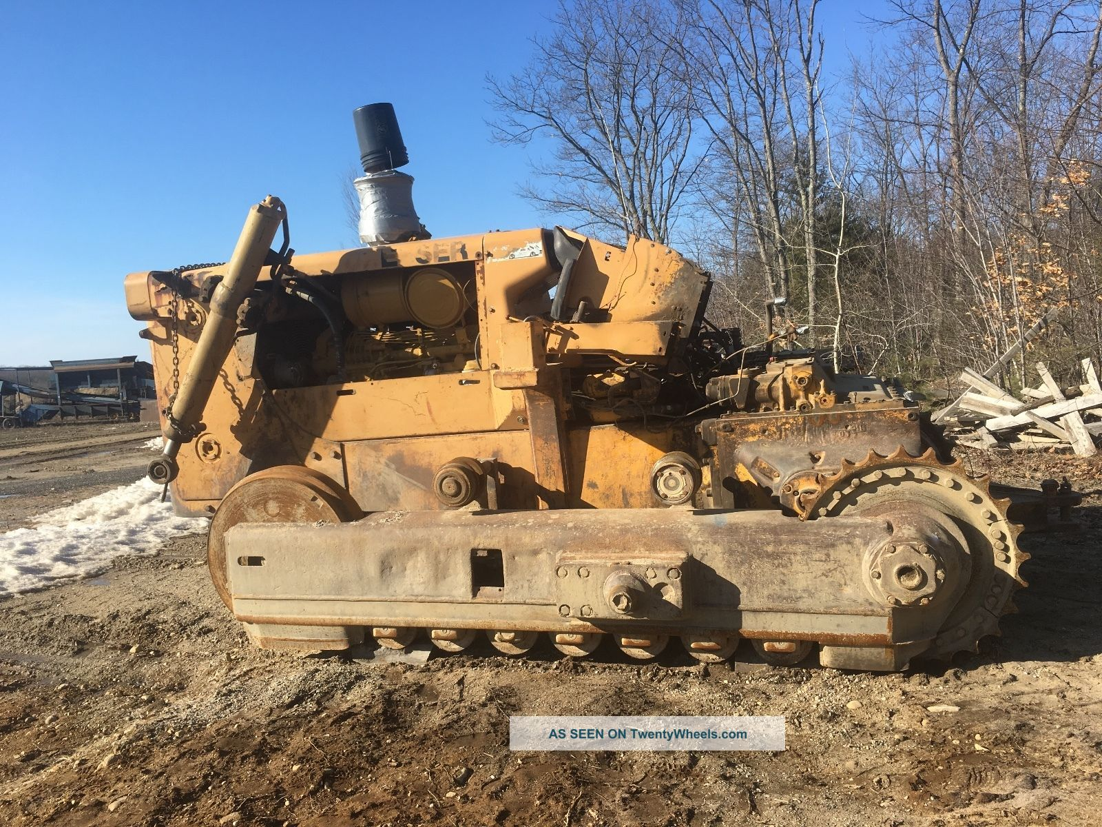 1977 International Td25c Dozer Parts Blade+track Included Crawler Dozers & Loaders photo